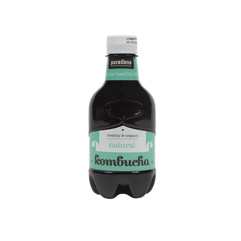 Purasana Kombucha drink (natural) 330ml